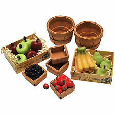 18 Inch Doll Farm Fresh Fruits Accessory Set, Assorted Fruits, Bushels & Pints