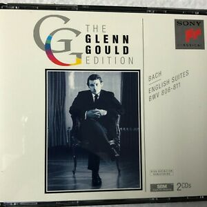 The Glenn Gould Edition-Bach English Suites 2 Vintage Classical Music CDs 1994