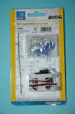 ESU 51804 Servoantrieb Präzisions Miniaturservo mit Zubhör NEU