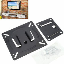 Ultra Slim Wall Mount Monitor LCD LED Panel HD TV Bracket For 14 19 20 22 23 24