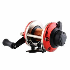 Right Handed-Round Big-Game Fishing Reel Saltwater Trolling Reels With-Line