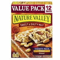 Nature Valley, Granola Bars, Sweet & Salty Nut, Variety Pack -12 bars