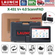 2020 Global LAUNCH X431 V+ ScanPAD Auto Diagnostic Scanner ECU Coding KEY TPMS