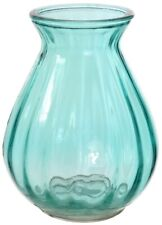 Small Teardrop Posy Glass Decorative Flower Vase 14cm Teal