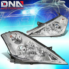 FOR 03-07 MURANO CHROME HOUSING CLEAR CORNER SIDE HEADLIGHT HEADLAMP REPLACEMENT