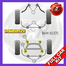 BMW E70 X5 (2006-2013)  Powerflex Complete Bush Kit