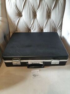Vintage Custom Hard Shell Briefcase With Key