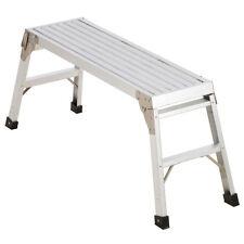 "NEW Quality 40"" Scaffolding Painting Folding Aluminum Step Ladder Work-Platform"