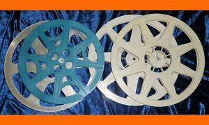 4x (3x600/1x500 m) 16 mm - FILMSPULE  Kinotechnik Schmalfilm Filmrolle Leerspule