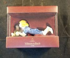 villeroy and bosch 1748 Christmas Joy glass figurines