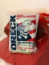 Oreck Celoc Hypo Allergenic Filter System Bags PKBB12DW Disposable 15 Bags
