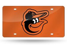 Baltimore Orioles MLB Baseball License Plate Auto Tag Vanity Plate