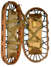 WWII British Army issued pair of Snowshoes - FREE Shipping  [PL3140]