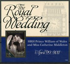 Bequia Grenadines St Vincent Stamps 2011 MNH Royal Wedding William & Kate 1v S/S