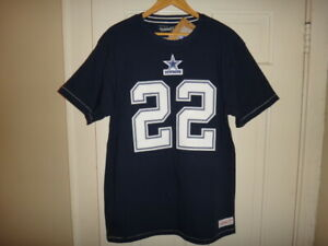Emmitt Smith Mitchell & Ness Dallas Cowboys Men's Name & Number Jersey T-Shirt