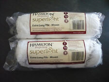 "HAMILTON PERFECTION 9""  MASONRY EXTRA LONG PILE ROLLER SLEEVES x2  NEW 1872-24"