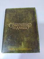 El Señor de Los Anillos La Comunidad del Anillo Edicion Extendida 4 x DVD