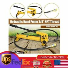 Cp 700 Manual Hand Hydraulic Power Pack Pump 2 Stage 10000 Psi 38 Npt