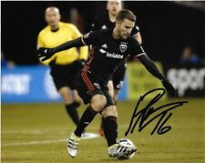 Dc United Patrick Mullins Autographed Signed 8x10 Photo Coa A