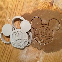 Mickey Mouse Cookie Cutter  - 1 pcs - Plastic 3d printed (PLA)