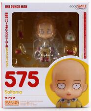 #575 Saitama uno-Punch Nendoroid Hombre en Stock Vendedor de EE. UU. buena sonrisa auténtica