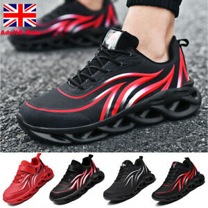 Mens Kids Boys Trainers Sports Shoes Fitness Running Casual Walking Gym Sneakers