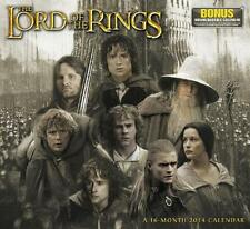 LORD OF THE RINGS ~ A 16 MONTH ~ 2014 CALENDAR ~ BONUS DOWNLOADABLE CALENDAR NEW