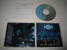 TESLA/FIVE MAN ACÚSTICO JAM(GEFFEN/MVCZ-8)JAPÓN CD ÁLBUM