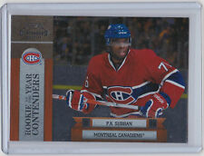 10-11 2010-11 PLAYOFF CONTENDERS P.K. SUBBAN  ROOKIE OF THE YEAR #13 CANADIENS