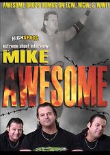 Mike Awesome Shoot Interview DVD ECW FMW WCW WWE USWA