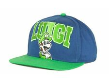 New Licensed Nintendo LUIGI Snapback Hat     TOO FRICKIN COOL!     LAST ONES!