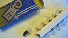 NEW - BOX OF 10,  #55 MINIATURE LIGHT BULBS