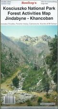 Rooftop Kosciuszko National Park Forest Activities Map *FREE SHIPPING*