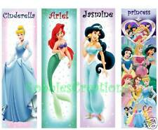 3 Lot-BOOKMARKS PRINCESS COLORFUL Card Children Girls Reading Book mark FUN