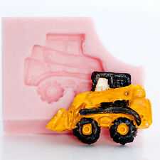 Silicone Mold Skid Steer Construction Equipment Mould for Candy or Crafts  (811)