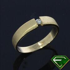 Handgefertigte Ringe aus Gelbgold mit SI Reinheit