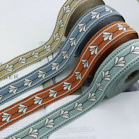 Jacquard Webbing Trim Embroidery DIY Home Curtain Lace Ribbon Accessories Crafts