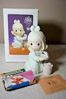 Precious Moments It Is No Secret What God Can Do Figure w/Box 531111 Pearl