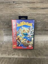 Landstalker Sega Genesis Game And Box Clean and Texted. Original 1993 Hang Tag