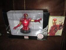 Marvel collection-Coffret buste Iron man& certificat numéroté-Edition limitée
