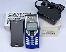 NOKIA 8210 NSM-3NX GSM HANDY UNLOCKED MOBILE PHONE INFRAROT WAP BLAU NEU NEW BOX