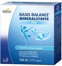 Hübner Basis Balance Mineralstoffe Pur Kapseln 180 Stk.