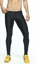 Mens Smart Lycra Running Tight/Meggings Black (S/M)