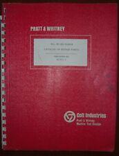 Pratt & Whitney 4E Jig Borer Parts Book - 1967