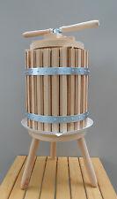 Wooden Wine Press 50 Liters 13 Gallon Fruit Crusher Cider Press Wine Making