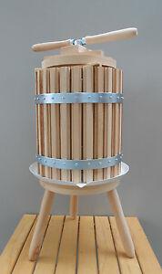 Wine Press 50 Liters 13 Gallon Fruit Grape Apple Cider Crusher Wine Juice Making
