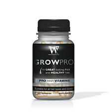 Hair Growth Vitamins Biotin - MSM - Collagen Selenium methionine - GrowPro