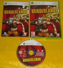 BORDERLANDS 1 XBOX 360 Versione Ufficiale Italiana 1ª Edizione »»»»» COMPLETO