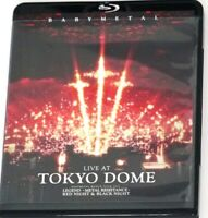 BABYMETAL: LIVE AT TOKYO DOME WORLD TOUR 2016 Blu-ray Region A Japan 2disks FS