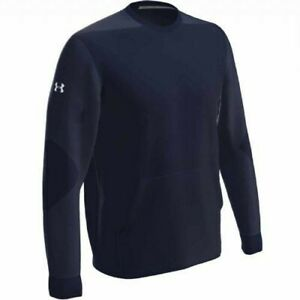 Under Armour Men's CTG Warm-Up Layering Crew Pullover NAVY SM